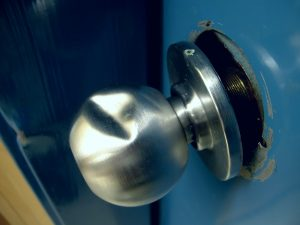 Damaged Door Knob